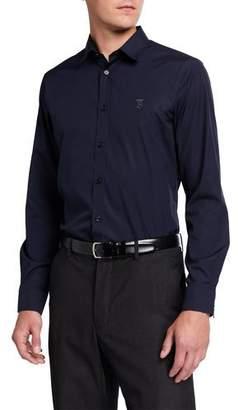 Burberry Men's Louis Classic Sport Shirt, Navy