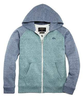 Quiksilver Boys' Everyday Color-Block Zip Hoodie - Big Kid