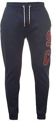 Soul Cal SoulCal Mens Deluxe SCCCO Marl Joggers Jersey Jogging Bottoms Trousers Pants