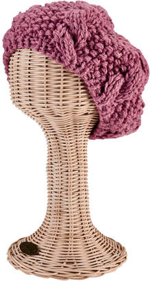 San Diego Hat Company Crochet Knit Cable Beret