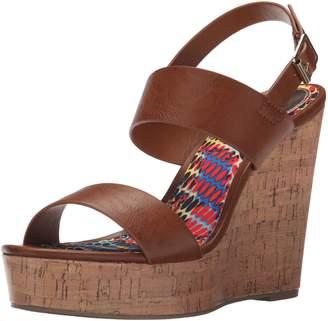 Madden-Girl Women's Elemennt Wedge Sandal