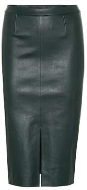 Stouls Exclusive to Mytheresa – Carmen leather midi skirt