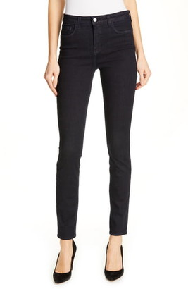 L'Agence '30' High Rise Skinny Jeans