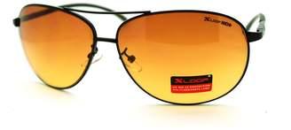 JuicyOrange HD Sunglasses High Definition Driving Lens Round Cop Aviators