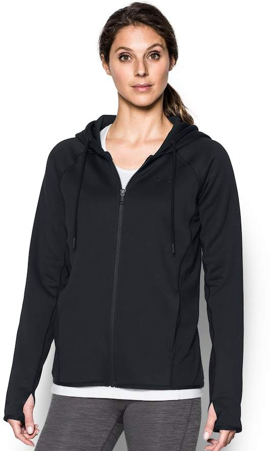 Under Armour Women's Under Armour Fleece FZ-Solid Thumb Hole Zip-Up Hoodie