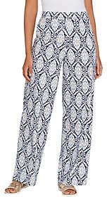 Denim & Co. Beach Regular Pull-On Wide Leg KnitPants