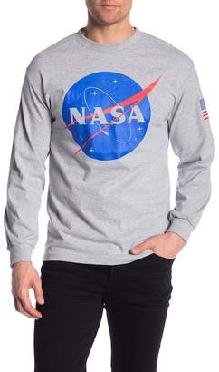 Bioworld Nasa Meatball Logo Long Sleeve Shirt