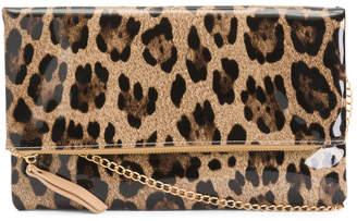 c32478b61a39 Fold Over Leather Crossbody Bag - ShopStyle