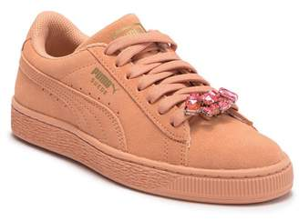 Puma Suede Jewel AC PS Sneaker (Little Kid)