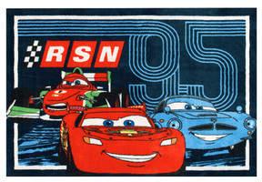 G.A. Gertmenian & Sons Cars 2 RSN95 Trio Area Rug