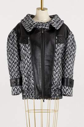 Miu Miu Wool bomber jacket