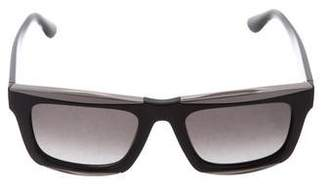 Valentino Logo Tinted Sunglasses