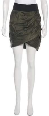Elizabeth and James Silk Knee Length Skirt