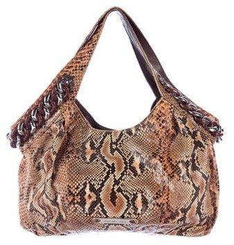 MICHAEL Michael KorsMichael Kors Python Medium ID Chain Bag