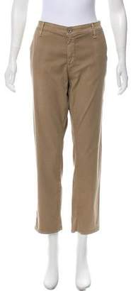 Adriano Goldschmied Mid-Rise Straight-Leg Pants w/ Tags