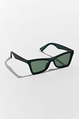 Urban Outfitters Plastic Contoured D-Frame Sunglasses