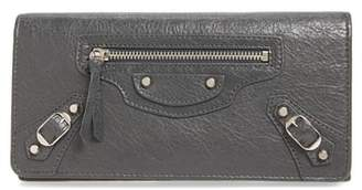 Balenciaga Classic Money Leather Wallet