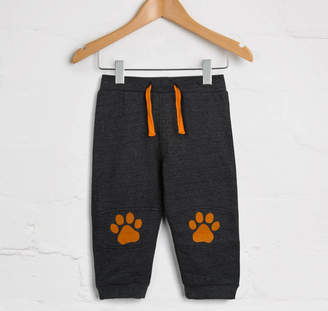SAM. Lucy & Charcoal Bear Paws Jogger