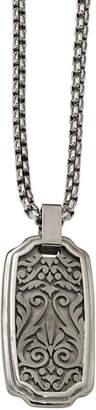 FINE JEWELRY Edward Mirell Mens Titanium Pendant Necklace