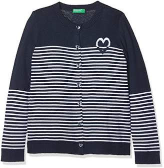 Benetton Girl's L/s Sweater Jumper,(Size: 1y)