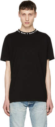 Marcelo Burlon County of Milan Black and White Logo T-Shirt