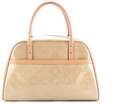 Louis VuittonLouis Vuitton Gold Monogram Vernis Leather Satchel Handbag BC14252LOU MHL