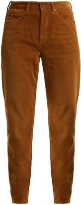 Saint Laurent Straight-leg corduroy jeans