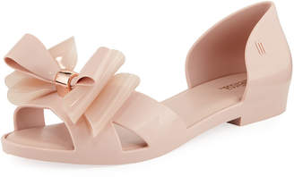 Melissa Shoes Seduction d'Orsay Bow Flat
