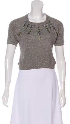 Vena Cava Embellished Knit Top