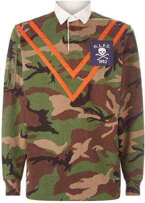 Polo Ralph Lauren Camouflage Rugby Shirt