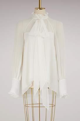 Erdem Isabelle mousseline blouse