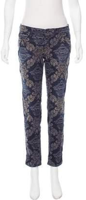 Diesel Black Gold Mid-Rise Skinny Jeans