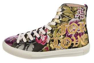 Gucci Blind For Love Brocade Sneakers w/ Tags