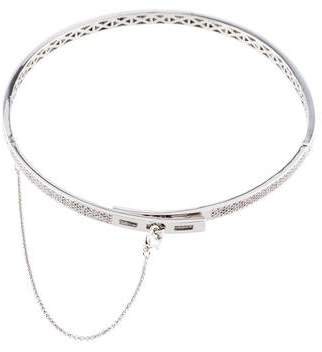 Eddie Borgo Pavé Crystal Safety Chain Choker