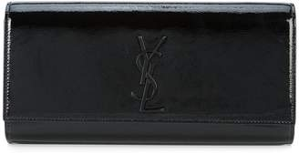 Saint Laurent Smoking logo clutch