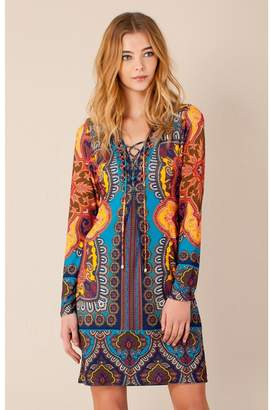 Hale Bob Yami Beaded Dress