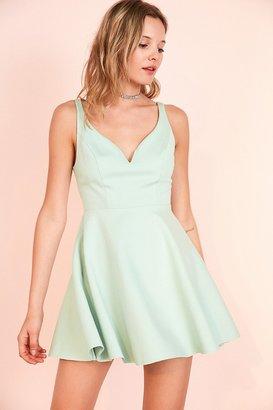 Kimchi Blue Heart Of The Ocean Sweetheart Mini Dress $69 thestylecure.com