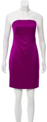 Ralph Lauren Strapless Satin Dress