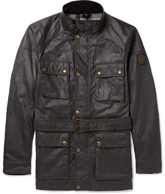 Belstaff Roadmaster Waxed-Cotton Jacket - Dark brown