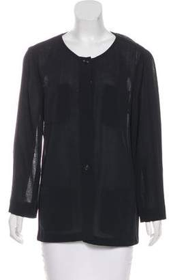 Chanel Wool Lightweight Jacket