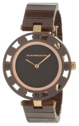 BCBGMAXAZRIA (ビーシービージーマックスアズリア) - BCBGMAXAZRIA Women 's bg8253 Analog Vintage Brown Dial Watch
