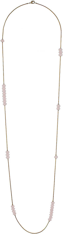 Rose Bead Gold Chain