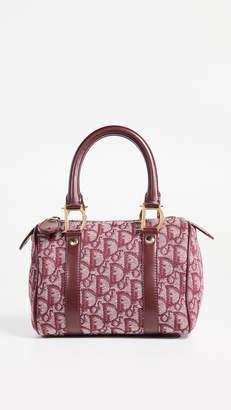 Christian Dior What Goes Around Comes Around Mini Boston Bag