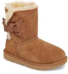 UGG Daelynn Bow Genuine Shearling Boot
