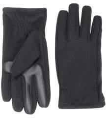 Isotoner Men's SmarTouch Fleece Tech Stretch Gloves