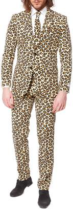Opposuits The Jag Printed Slim-Fit Suit