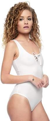 Juicy Couture Lace Up Tank Bodysuit