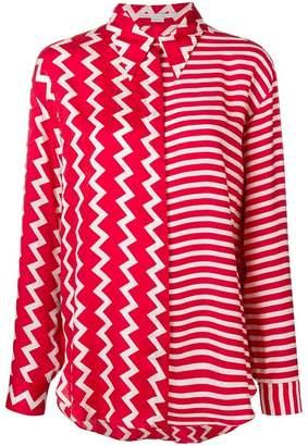 Stella McCartney multi-pattern shirt