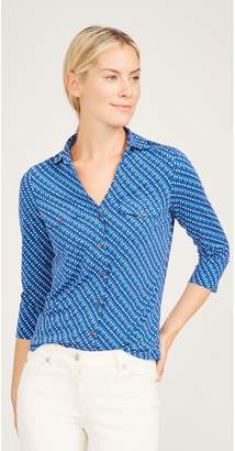 J.Mclaughlin Brynn Lyford Jersey Shirt in Rivetta