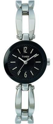 Timex Women's T2M731 Classic Lingerie Silver Tine Bracelet Dress Watch